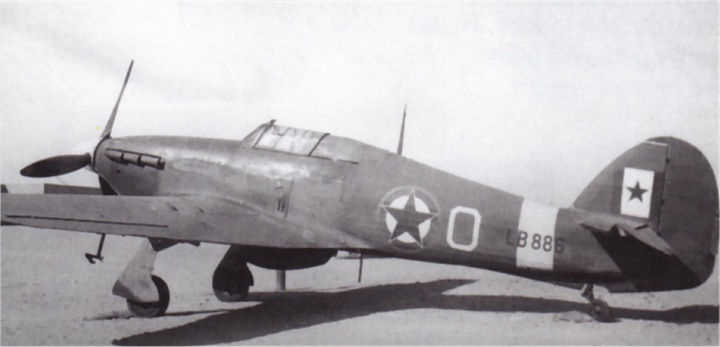 Hurricane IIc Trop RAF 351Sqn O LB886 Libya 1944 02