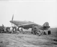 Asisbiz Hawker Hurricane IIc RAF 241Sqn HV638 at Souk el Arba Tunisia 1943 IWM CNA77
