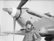 Asisbiz Hurricane I RAF 335Sqn at Aqir Palestine IWM CM2212