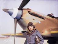 Asisbiz Hurricane I RAF 335Sqn at Aqir Palestine IWM CM2212b