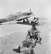 Asisbiz Hurricane IIb Trop RAF 274Sqn P2638 with Sergeant Pilot F H Dean at Sidi Barrani Egypt IWM CM868