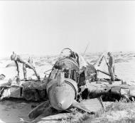 Asisbiz RAF Hurricane IIb shot down over the Egyptian desert 1942 ebay 02