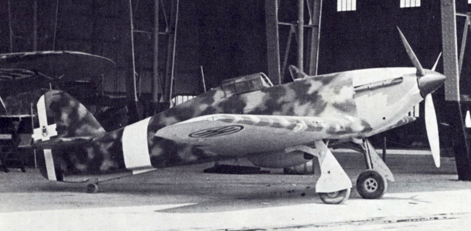 Captured RA Hurricane I BR2337 captured ex Yugoslav AF Monstar 1941 01