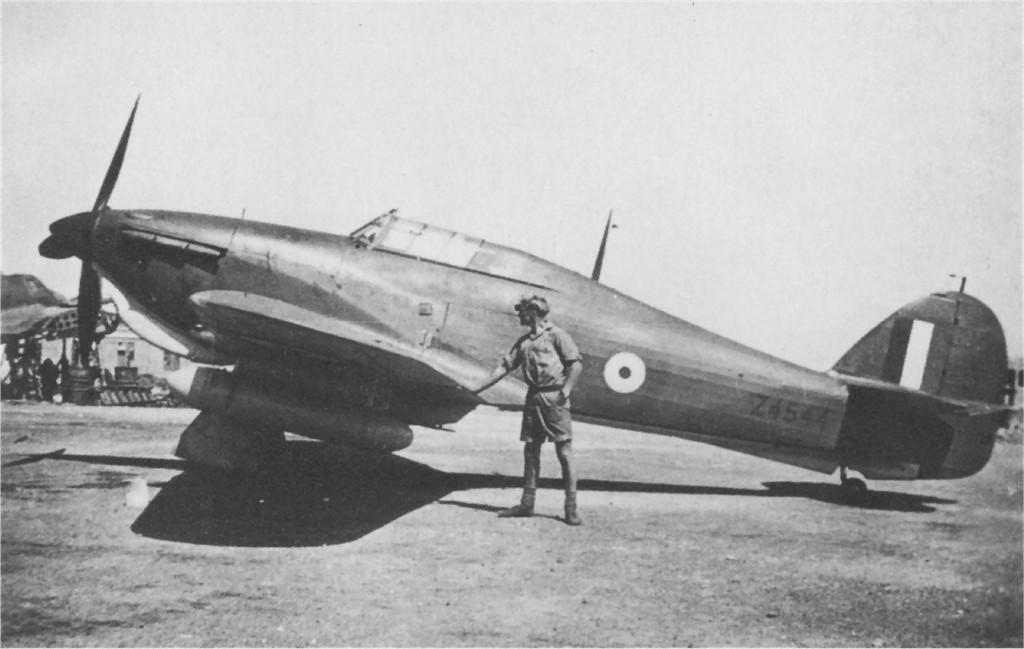Hawker Hurricane I Trop RAF Z4544 Malta 1941 01