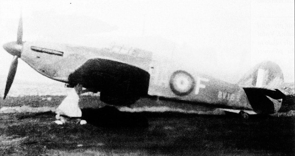 Hawker Hurricane IIa RAF 126Sqn HAF BV163 Malta May 1942 01