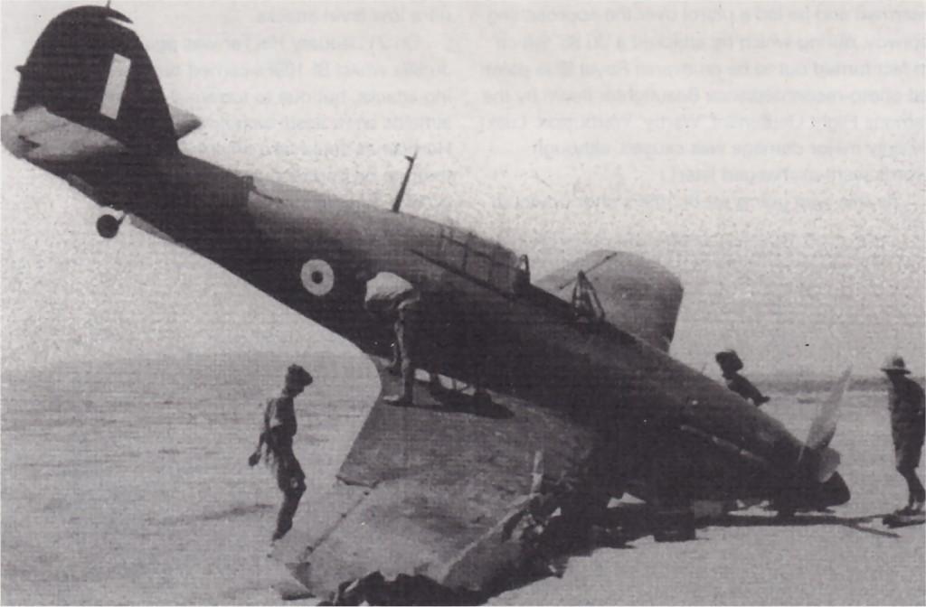 Hawker Hurricane IIb Trop RAF Z3757 force landing Malta 1941 01