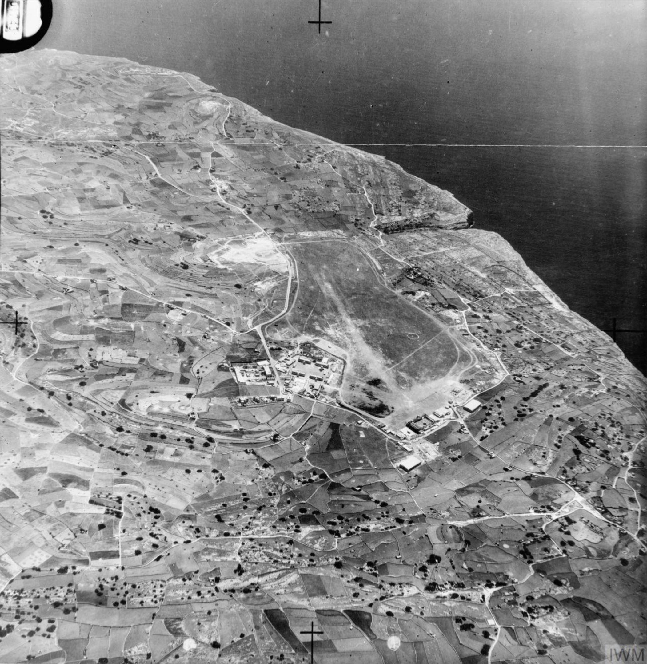 RAF Hal Far airfield Malta IWM MOWH181