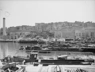 Asisbiz Bomb damage around Grand Harbour Malta after axis raid 7th Apr 1942 IWM A9631