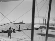 Asisbiz British convoy on their way to Malta with HMS Eagle 10 12th Aug 1942 IWM A11157