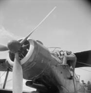 Asisbiz Fleet Air Arm Fairey Albacores used to bolster Maltas defenses 1942 IWM A16111
