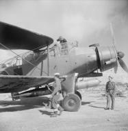 Asisbiz Fleet Air Arm Fairey Albacores used to bolster Maltas defenses 1942 IWM A16116