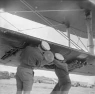Asisbiz Fleet Air Arm Fairey Albacores used to bolster Maltas defenses 1942 IWM A16119