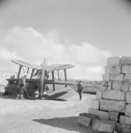 Asisbiz Fleet Air Arm Fairey Albacores used to bolster Maltas defenses 1942 IWM A16124