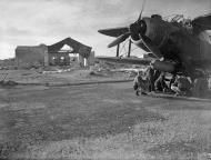 Asisbiz Fleet Air Arm Fairey Albacores used to bolster Maltas defenses 1st Dec 1942 IWM A13424