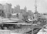 Asisbiz HMS Matchless in dry dock Grand Harbour Malta 4th Jun 1942 IWM A10770