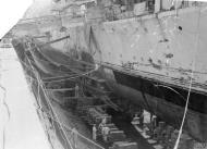 Asisbiz HMS Matchless in dry dock Grand Harbour Malta 4th Jun 1942 IWM A10772