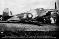 Asisbiz Hawker Hurricane IIb RAF 185Sqn GLP Marcus W Kidson Z2402 Hal Far Malta 1942 01