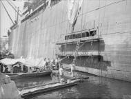 Asisbiz Merchant ship Orari under going repairs Grand Harbour Malta 3rd Jun 1942 IWM A10774