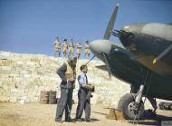 Asisbiz Mosquito II RAF 23Sqn YPP at the dispersal point Malta 27 Jun 1943 IWM TR1081
