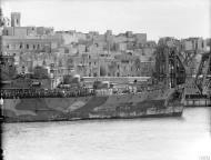 Asisbiz RN convoy escort entering in Grand Harbour Malta Operation Halberd Sep 1941 IWM A5771
