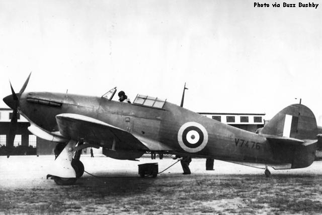 Hurricane I RAAF V7476 pre RAAF markings 01