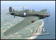 Asisbiz COD B1 Hurricane I RAAF V7476 Communications Australia V0A