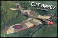 Asisbiz COD B1 Hurricane I RAF 127Sqn EJF BM987 North Africa 1942 V0A