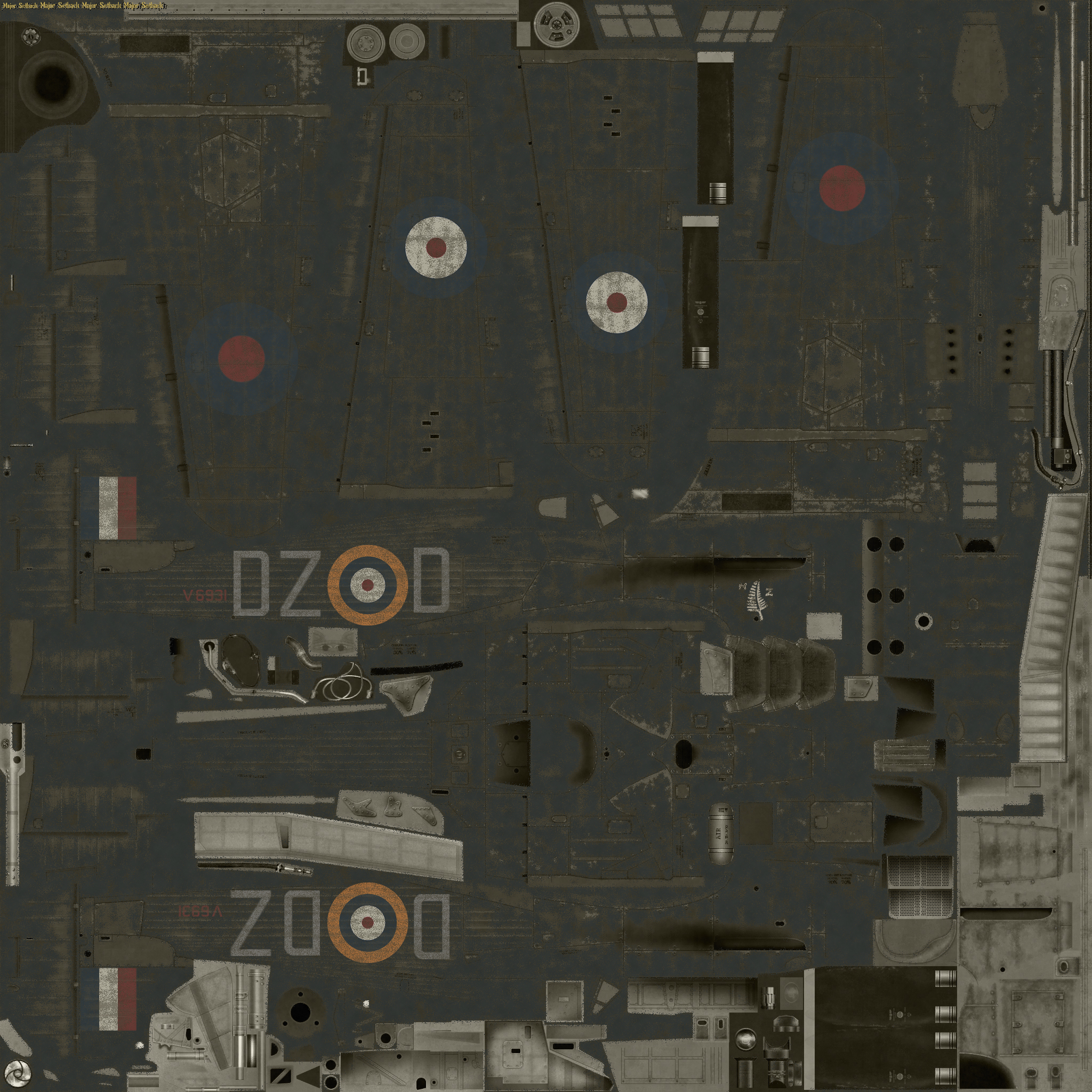 COD MS I RAF 151Sqn DZD weathered Wittering 10th May 1941