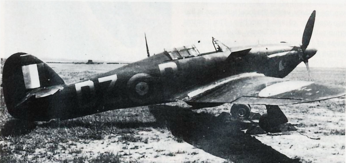 Hurricane I RAF 151Sqn DZD Blackie Smith Wittering 10th May 1941 01