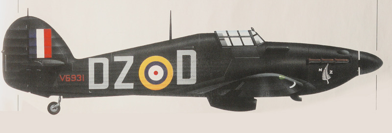 Hurricane I RAF 151Sqn DZD Blackie Smith Wittering 10th May 1941 0A