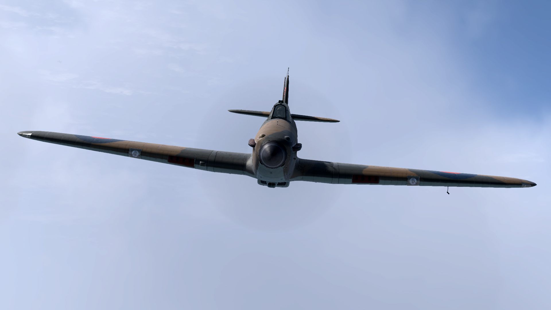 COD Artwork Hurricane I RAF 17Sqn battling with Bf 109s V04