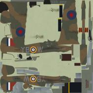Asisbiz COD KF Hurricane RAF 17Sqn YBW P3878 Bird Wilson Debden England July 1940