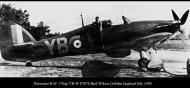 Asisbiz Hawker Hurricane I RAF 17Sqn YBW Bird Wilson P3978 Debdeb England July 1940 02