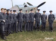 Asisbiz Aircrew RAF 1Sqn pilots at Prestwick Scotland 01