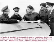 Asisbiz Aircrew RAF Jean Demozay in a group photo with RAF 1Sqn officers Nov 1940 01