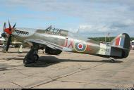 Asisbiz Airworthy Warbird Hawker Hurricane IIc RAF 1Sqn JXE PZ865 07