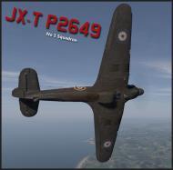 Asisbiz COD B1 Hurricane I RAF 1Sqn JXT P2649 England 1940 V0A