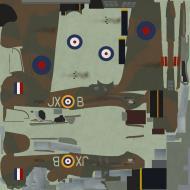 Asisbiz COD KF Hurricane I RAF 1Sqn JXB FltSgt Clowes P3395 England 1940