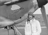 Asisbiz Hurricane I RAF 1Sqn JXB AV Taffy Clowes P3395 at Wittering 1940 IWM CH1570