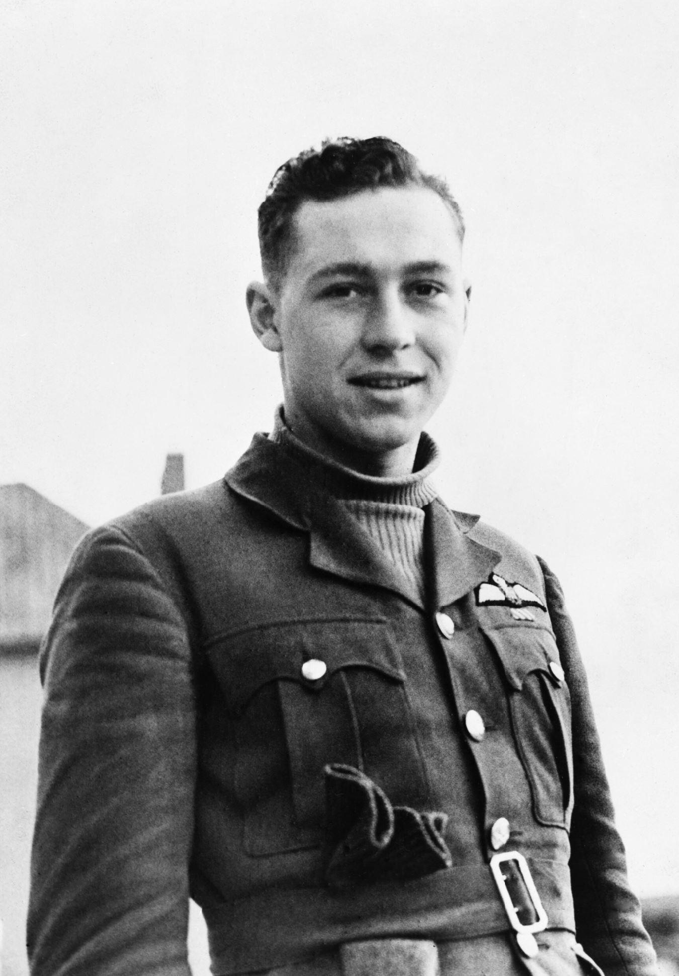 Aircrew RAF 242Sqn William Willie McKnight Sep 1940 IWM CH1321
