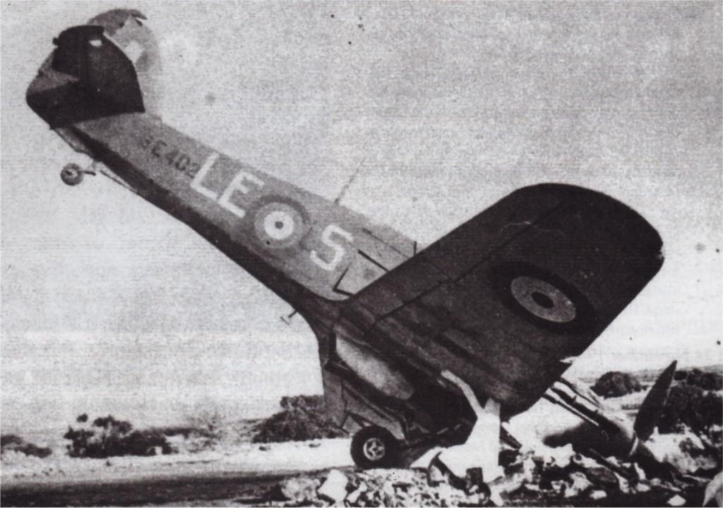 Hawker Hurricane IIc Trop RAF 242Sqn LES BE402 Malta Nov 1941 01