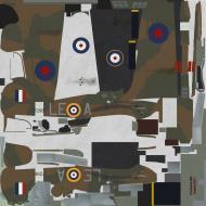 Asisbiz COD SO Hurricane I RAF 242Sqn LEA William McKnight P2961 England 1940
