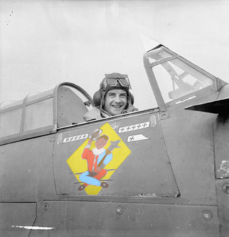 Hawker Hurricane I RAF 245Sqn DX W2900 SLdr J Simpson Aldergrove Northern Ireland May 6th 1941 03