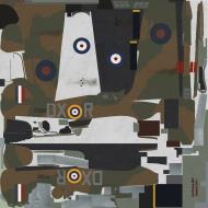 Asisbiz COD KF Hurricane I RAF 245Sqn DXR P2902 Drem Scotland 1940