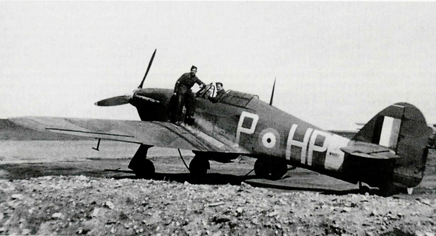 Hurricane IIb RAF 247Sqn HPP W9132 England May 1940 01