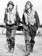 Asisbiz Aircrew RAF pilots Plt Off James R B Meaker and Percy Burton from 249Sqn both KIA 27th Sep 1940 01