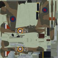 Asisbiz COD C6 Hurricane I RAF 249Sqn GNA Nicholson P3576 England 1940