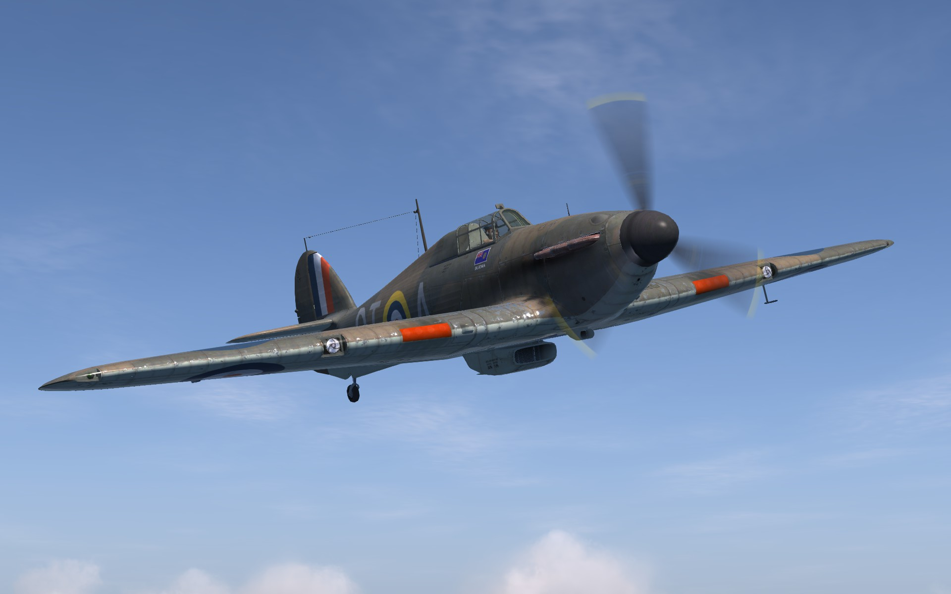 COD SO Hurricane I RAF 257Sqn DTA Stanford Tuck V6555 England 1940 V0B