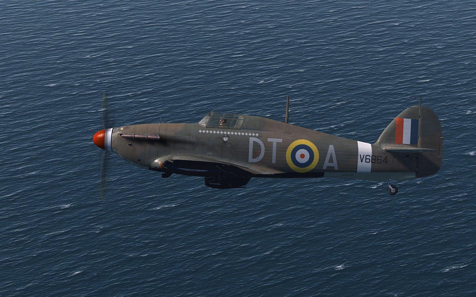 COD SO Hurricane I RAF 277Sqn DTA Stanford Tuck V6864 England 1941 V0A