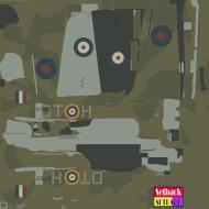 Asisbiz COD MS Hurricane I RAF 257Sqn DTH V7607 Coltinshall England 1940